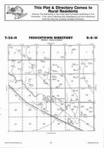 Frenchtown Township, Elkhorn River, Directory Map, Antelope County 2006